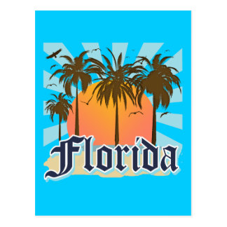 La Floride le Floride Etats-Unis Carte Postale