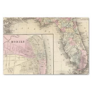 La Floride, mobile Papier Mousseline
