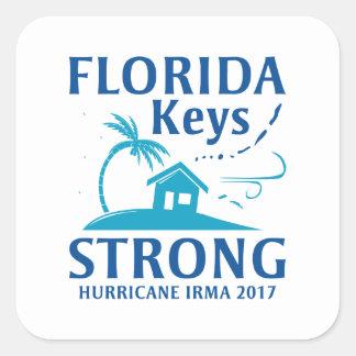 La Floride verrouille fort Sticker Carré