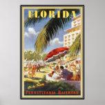 La Floride vintage, Etats-Unis - Posters