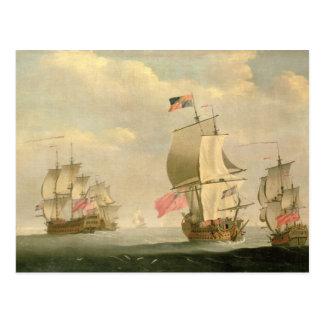 La flotte anglaise sous la voile cartes postales