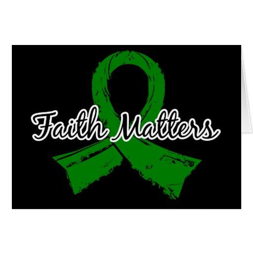 La foi importe l'infirmité motrice cérébrale 5 carte de vœux