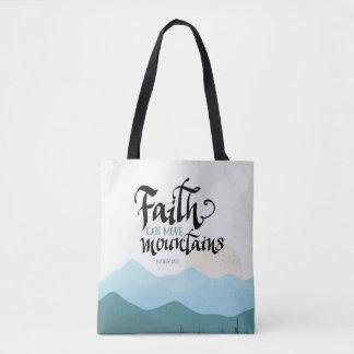 La foi peut déplacer le sac d'impression de