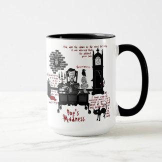 """La """"folie du Poe"""" (tasse de version 2) Mugs"""