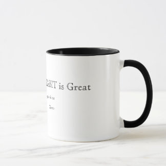 La force de l'habitude est grande tasse de café