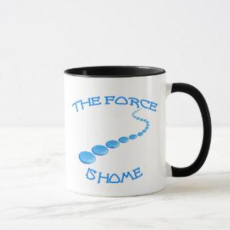 La force est le frisbee à la maison mug