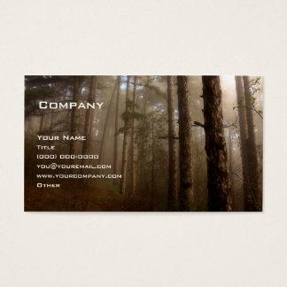 La forêt cartes de visite