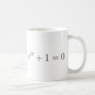 La formule d'Euler Mug Blanc