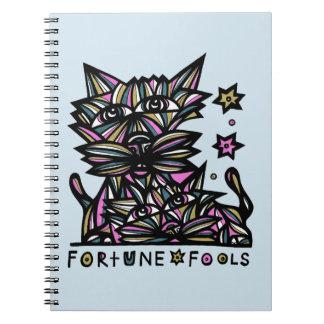 """La """"fortune dupe"""" le carnet de notes à spirale"""