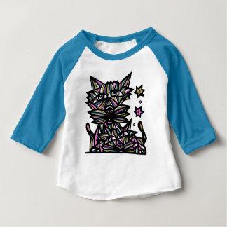"""La """"fortune dupe"""" le T-shirt raglan du bébé 3/4"""