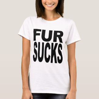 La fourrure suce t-shirt