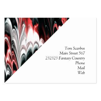 La fractale a marbré 8 (l) carte de visite grand format