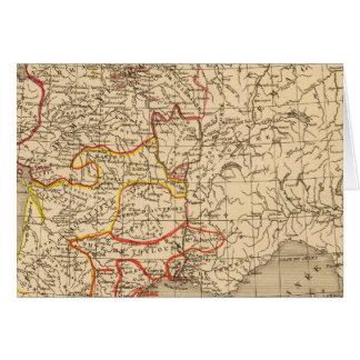La France 1223 un 1270 Carte De Vœux