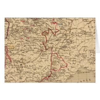 La France 1422 un 1461 Carte De Vœux