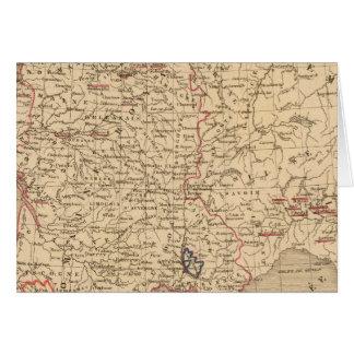 La France 1483 un 1547 Carte De Vœux