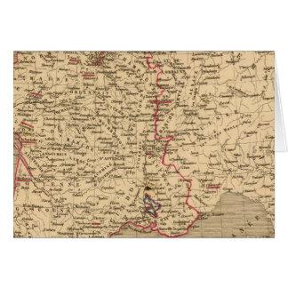 La France 1589 un 1643 Carte De Vœux