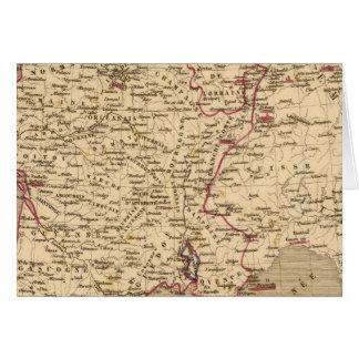 La France 1643 un 1715 Carte De Vœux
