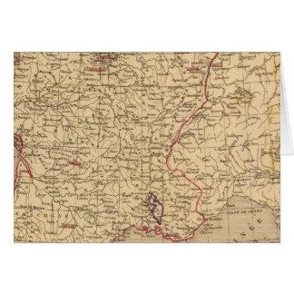 La France 1715 un 1774 Carte De Vœux