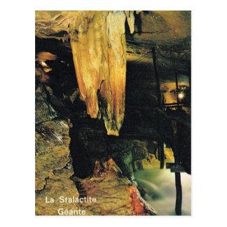 La France, Arbois, planches de DES de Grotte Carte Postale