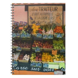 La France, Corse. Le goût du Corse authentique Carnet À Spirale