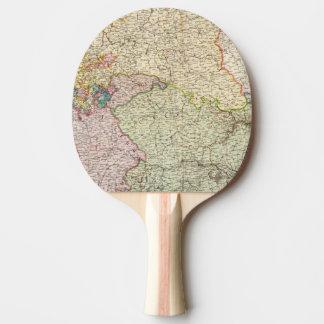 La France du nord-est Raquette Tennis De Table