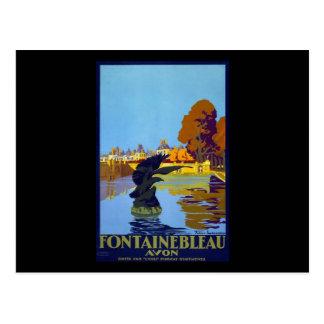 La France Fontainebleau Avon Carte Postale