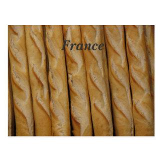La France - pain français Carte Postale