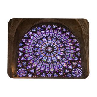La France, Paris. Détail intérieur de verre souill Magnets Souples