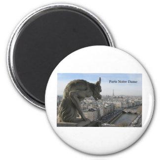 La France Paris Notre Dame (par St.K) Magnets