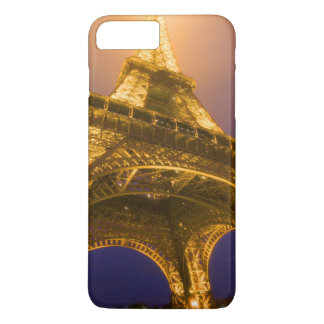 La France, Paris. Recherche de la base d'Eiffel Coque iPhone 7 Plus