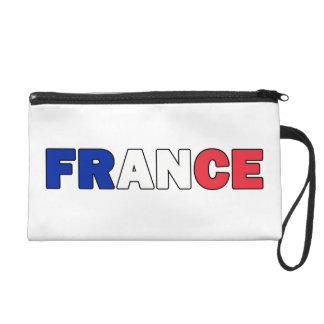 La France Pochette Avec Dragonne