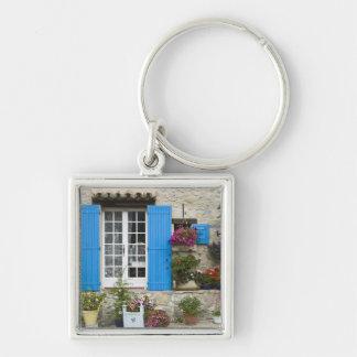 La France, Provence, Saint-LÈger-du-Ventoux. Porte-clé Carré Argenté
