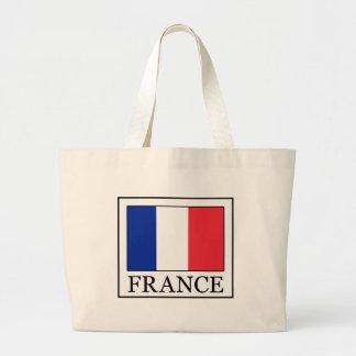 La France Sac En Toile Jumbo