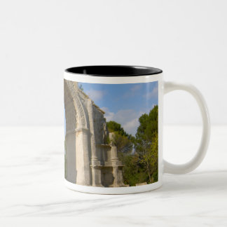 La France, St Remy De Provence, voûte triomphale Mug Bicolore