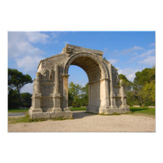 La France, St Remy De Provence, voûte triomphale Photographie D'art