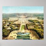 La France vintage, Palais De Versailles Poster