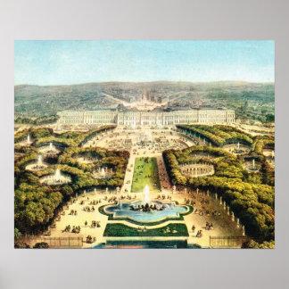 La France vintage, Palais De Versailles Posters