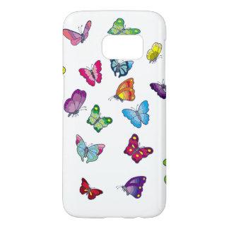 la galaxie S7 de Samsung de papillon, téléphonent Coque Samsung Galaxy S7