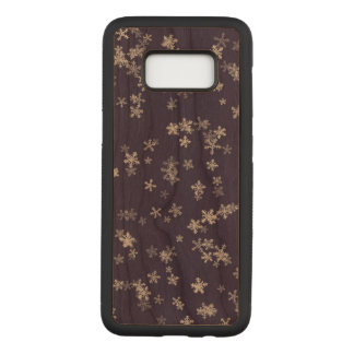 La galaxie S8 de Samsung de flocons de neige Coque Samsung Galaxy S8 Par Carved