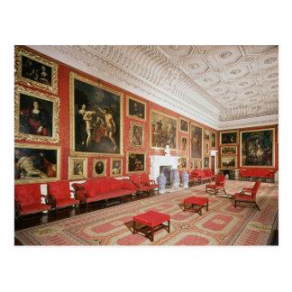 La galerie de peinture, plâtre cartes postales