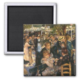 La Galette (   1876) de BAL du de Renoir Magnet Carré