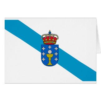 La Galicie, une région celtique de l'Europe Carte De Vœux