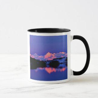 La gamme d'Alaska est à côté de Mt. Denali, Mugs