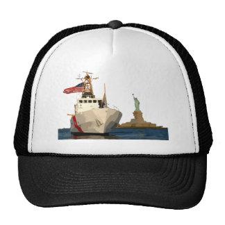 La garde côtière et statue de la liberté casquette