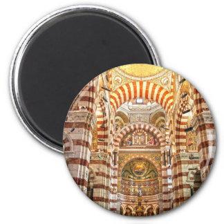 La garde de Notre Dame De de cathédrale à Marseill Magnets Pour Réfrigérateur