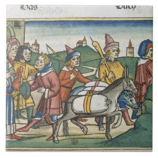 La genèse 42 25-28 Joseph envoie à ses frères les  Grand Carreau Carré