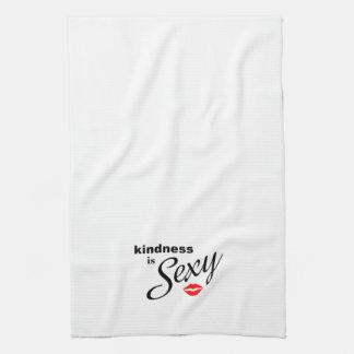 La gentillesse est serviette de cuisine sexy