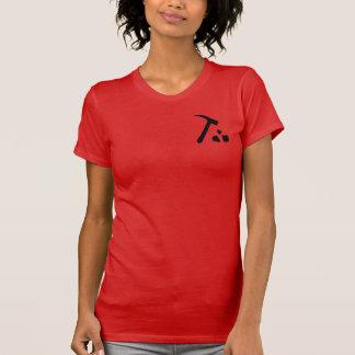 La géologie bascule le T-shirt