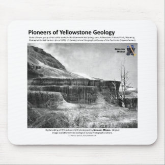 La géologie de Yellowstone fraye un chemin II - Ho Tapis De Souris