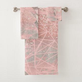 la géométrie d'espace rose